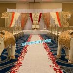 Indian Wedding Elephant Statues Entrance Decor