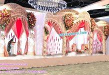 Latest Raj Mahal Wedding Mandap USA