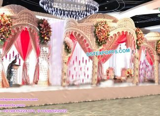 Latest Raj Mahal Wedding Mandap USA
