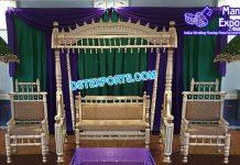 Muslim Wedding Handicraft Sankheda Swing Set