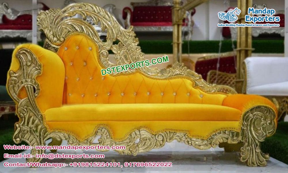 Royal Asian Wedding French Style Sofa
