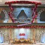 Stylish Wedding Wooden Carved Mandap Malaysia