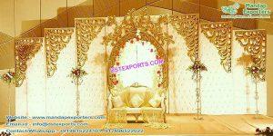 Top Designed Wedding Leather Back-frames