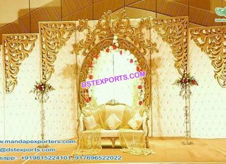 Top Designed Wedding Leather Back-frames