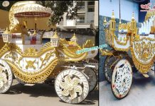 Traditional Bahubali Wedding Buggy Carriage