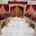 Rajwada Wedding Fiber Square Mandap Sydney