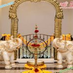 Traditional Wedding Entrance Elephant Statues