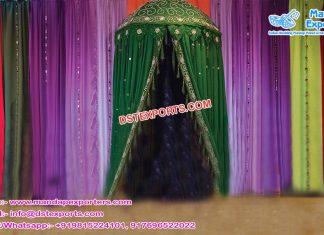 Afghani Heena Function Umbrella Decoration