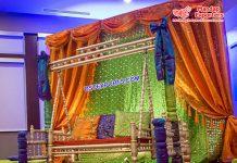 Arabian Heena Function Backdrop Curtains