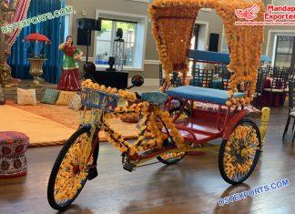 Classical Wedding Entrance Rickshaw USA