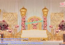 Modern Wedding Stage Decoration Dubai