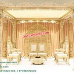 Designer Wooden Handicraft Wedding Mandap NZ