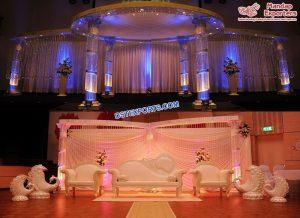 Dreamy Wedding Crystal Mandap Germany