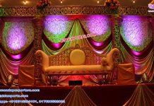 Dreamy Wedding Reception Stage London