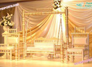 Glamorous Afgani Heena Function Jhula Set