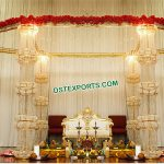 Glamorous Wedding Crystal Mandap USA