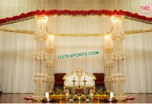 Glamorous Wedding Crystal Mandap USA