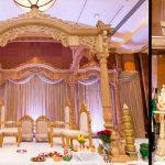Gujarati Wedding Wooden Mandap London