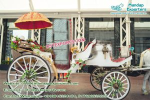 Indian Wedding Horse Buggy For Sale