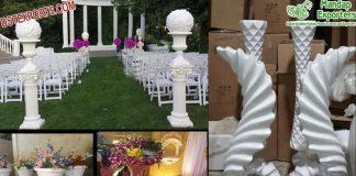 Latest Wedding Fiber Flower Pots Collection