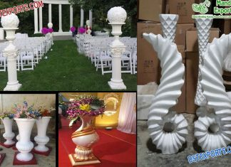 Latest Wedding Fiber Flower Pots Collection