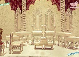 Latest Wedding Mandap Chair Set