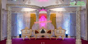 Luxury Wedding Butterfly Mandap Stage New Zealand