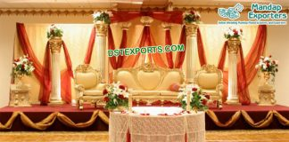 Magnificent Indian Wedding Roman Stage USA