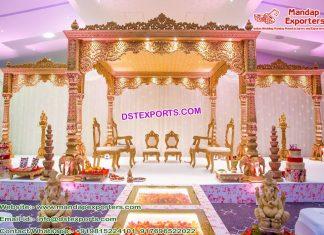 Maharaja Look Wedding Mandap Sydney