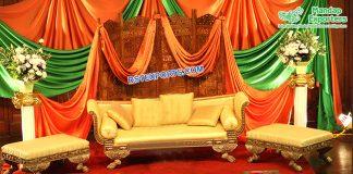 Muslim Walima Mehndi Function Furniture Set