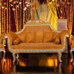 Muslim Wedding Designer Sofa Set For Sale