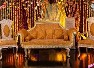 Muslim Wedding Designer Sofa Set For Sale