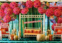 Pakistani Wedding Sangeet Night Stage Decoration