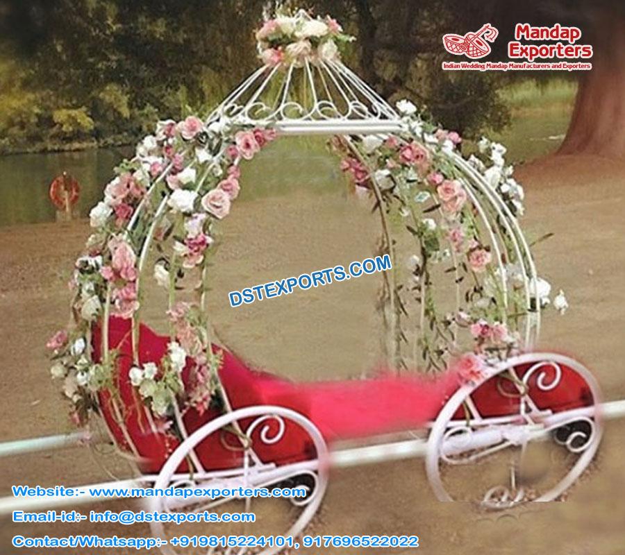Princess Wedding Pumpkin Cinderella Carriage