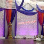 Punjabi Sangeet Stage Backdrop Curtains