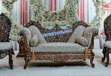 Royal Look Antique Wedding Sofa Set