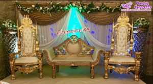 Royal Wedding Gold Furniture Set Germany