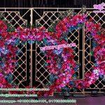 Stylish Wedding Candle Back Walls Decoration USA