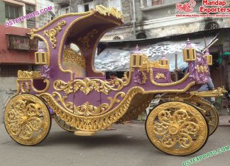Traditional Indian Bahubali Carriage For Sale