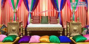 Walima Mehndi Stage Couch