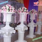 Western Wedding Flower Pots Aisleway Decoration