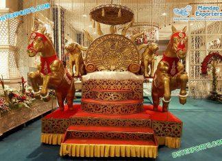 Bahubali Theme Maharaja Sofa