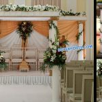 Best Indian Wedding Roman Pillar Mandap