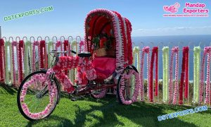 Bollywood Style Bridal Entry Rickshaw