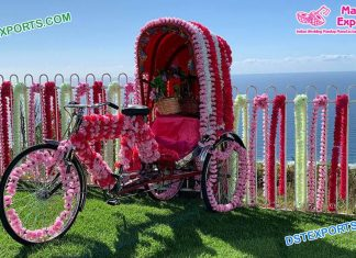 Bollywood Style Bridal Entry Rickshaw