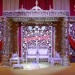 Dream Wedding Golden Flower Mandap Germany