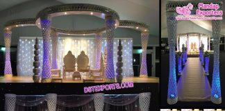 Dream Wedding Plazzo Crystal Mandap Austria