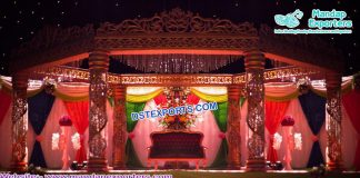 Dreamy Wedding Fiber Crystal Mandap Singapore