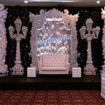 Dreamy Wedding White Stage Decoration Paris