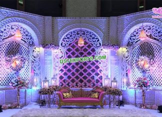 Eminent Backdrop Frames For Wedding Decor